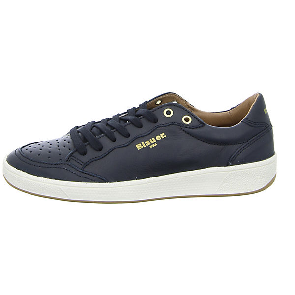 schwarz LEA MURRAY01 Blauer Sneakers Low 576aHIqw