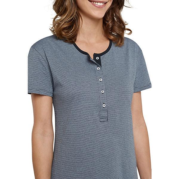 SCHIESSER SCHIESSER grau Nachthemd Nachthemd UrnxI1rP