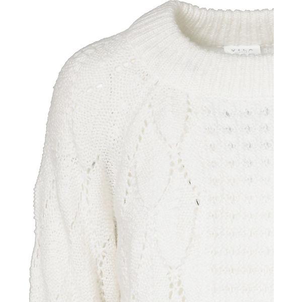Pullover VILA VILA Pullover weiß weiß nrrSTa