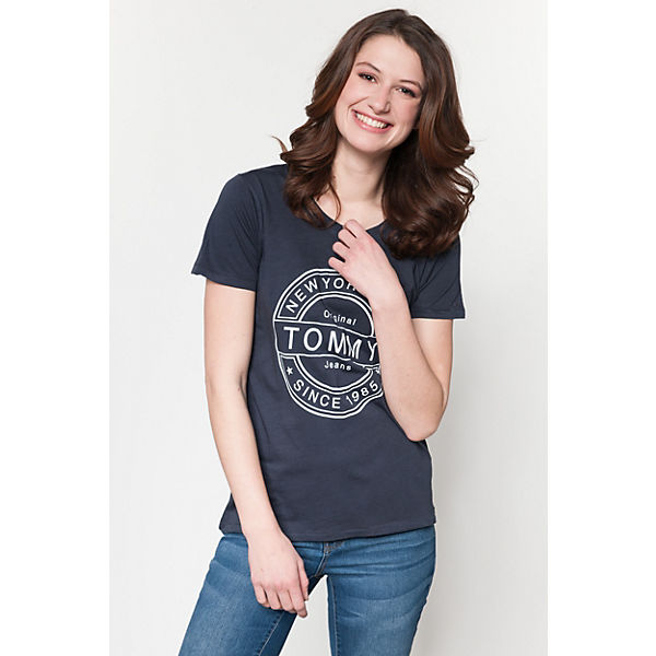 TOMMY TOMMY Shirt dunkelblau Shirt dunkelblau JEANS T JEANS T qwvwRzIA