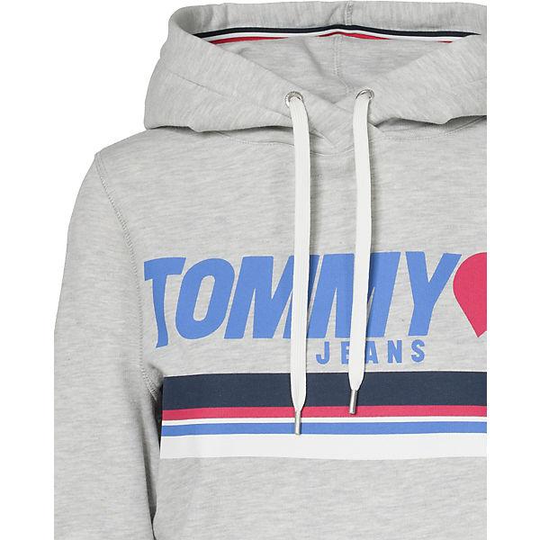 TOMMY hellgrau JEANS TOMMY JEANS Sweatshirt IwxaIRrq