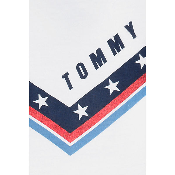 T T TOMMY weiß Shirt JEANS TOMMY Shirt JEANS CpqO6Bp