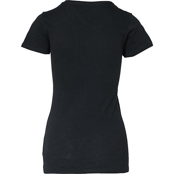 T TOMMY JEANS JEANS schwarz schwarz T JEANS TOMMY T Shirt Shirt TOMMY Shirt wTnCxOqnv