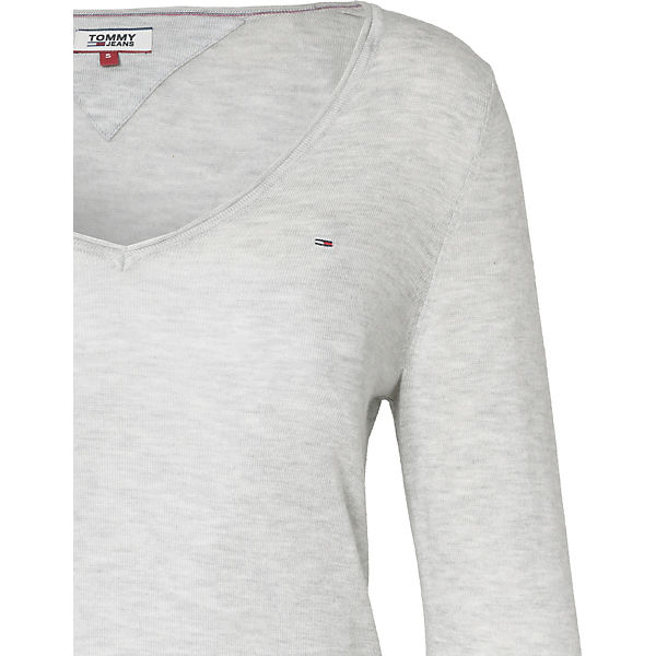 TOMMY TOMMY JEANS JEANS hellgrau Pullover CUU5wcqz