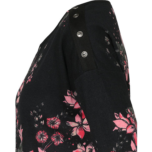 4 schwarz Arm fransa Shirt 3 Pxaqa701