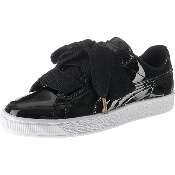 Basket Heart Patent Wn's Sneakers Low