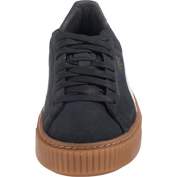 Sneakers Schwarz Puma Perf Basket Platform Gum kombi wqwPzvI
