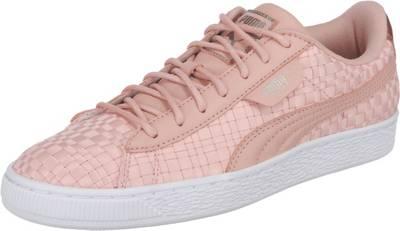 puma damen sneaker rosa satin
