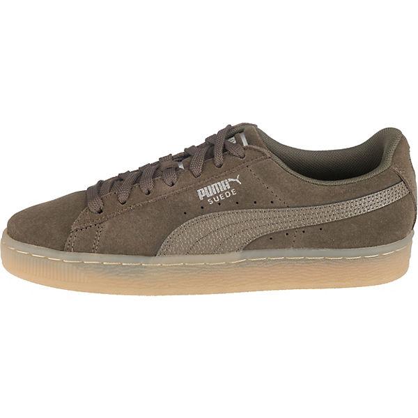 Sneakers Khaki Bubble Puma Classic Suede CwZ6qgZ