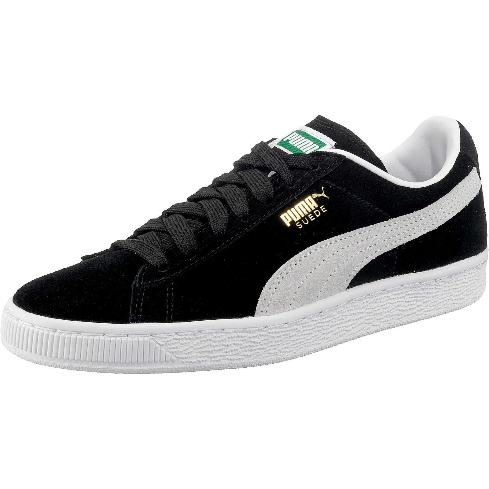 PUMA Suede Classic+ Sneakers schwarz Damen Gr. 39