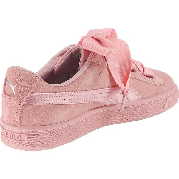 Ep Suede Heart Sneakers Rosa Puma qOwYRYS