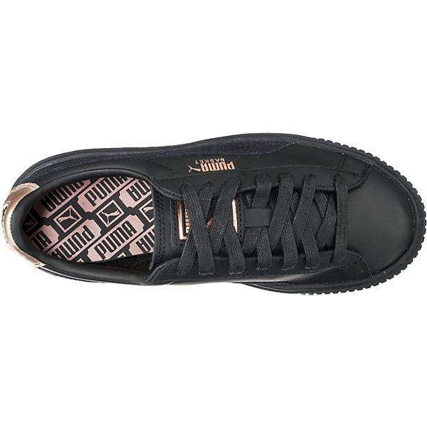 Platform Euphoria Puma Schwarz Rg Basket Sneakers zZnqFw