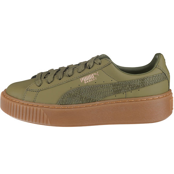 Euphoria Sneakers Braun Puma Gum Platform Basket aqxEwC6z