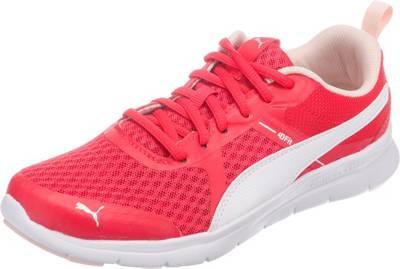 PUMA 'Flex Essential' Fitnessschuhe Damen dunkelpink / weiß 9MHpY