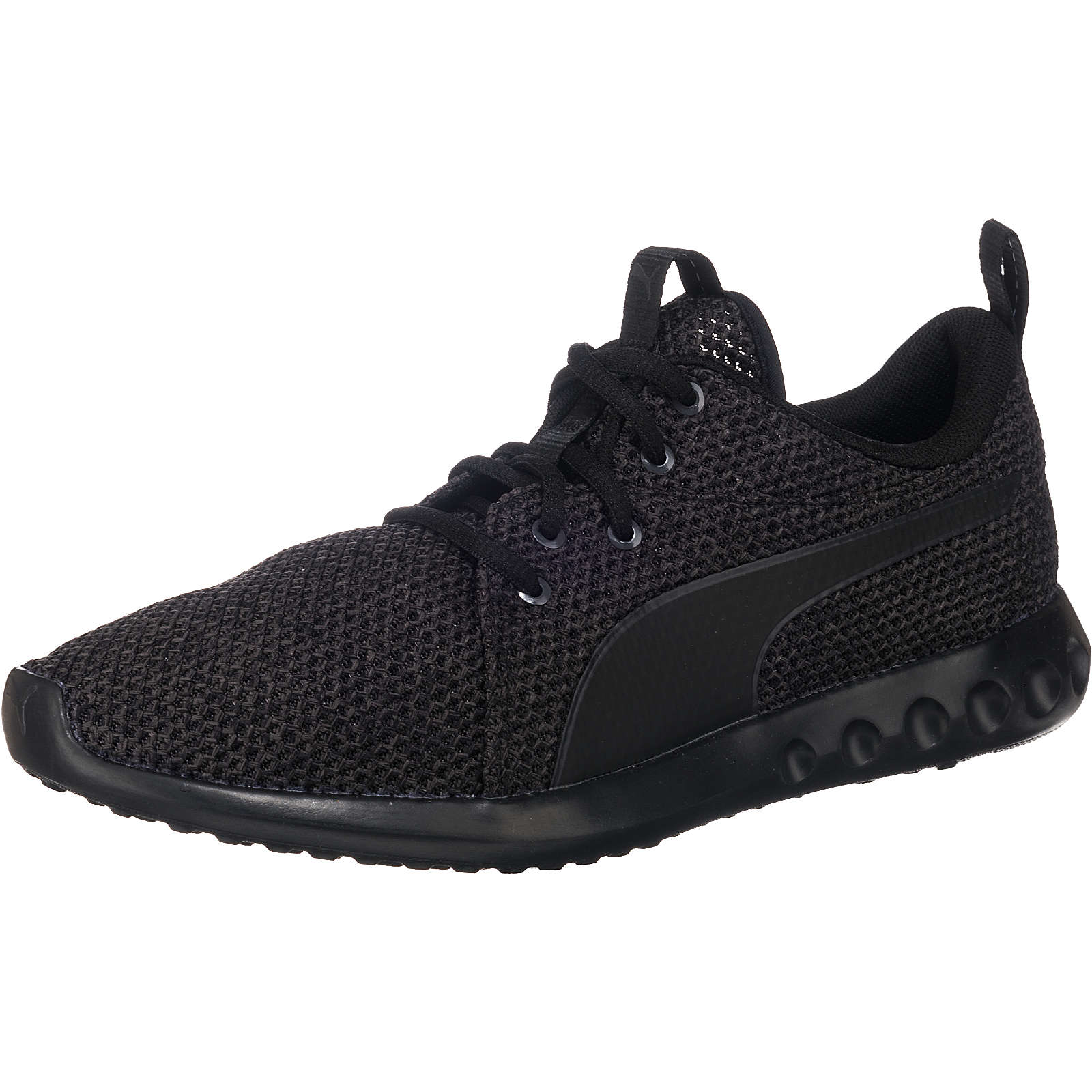PUMA Carson 2 Nature Knit Sneakers Low schwarz Herren Gr. 45