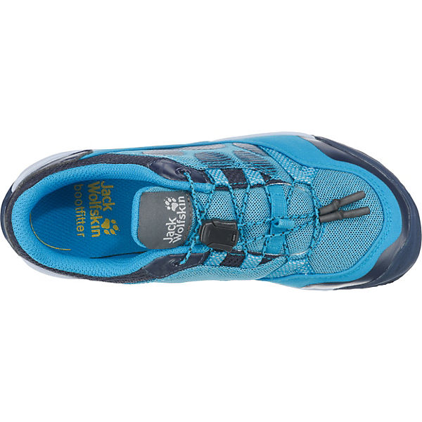 Jack Wolfskin Kinder Outdoorschuhe JUNGLE GYM LOW K blau