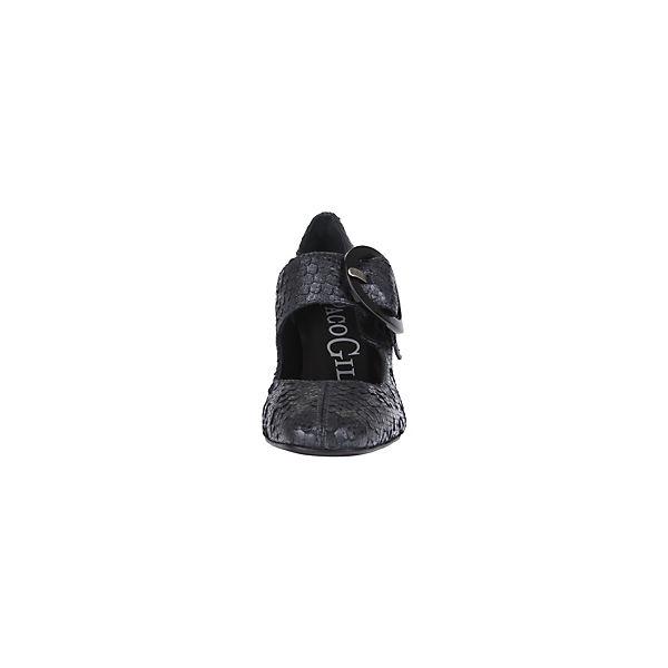 Paco Gil, Spangenpumps, anthrazit anthrazit anthrazit  Gute Qualität beliebte Schuhe 79f603