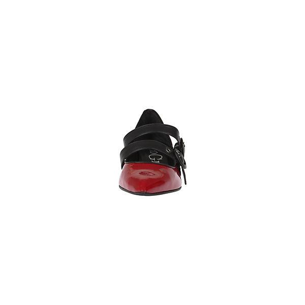 Paco Gil, Spangenpumps Gute ADELE/ CHEF, rot-kombi  Gute Spangenpumps Qualität beliebte Schuhe f35c37