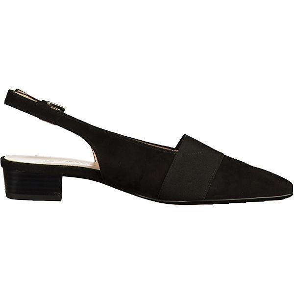 PETER KAISER, Sling-Pumps, beliebte schwarz  Gute Qualität beliebte Sling-Pumps, Schuhe 805cc6