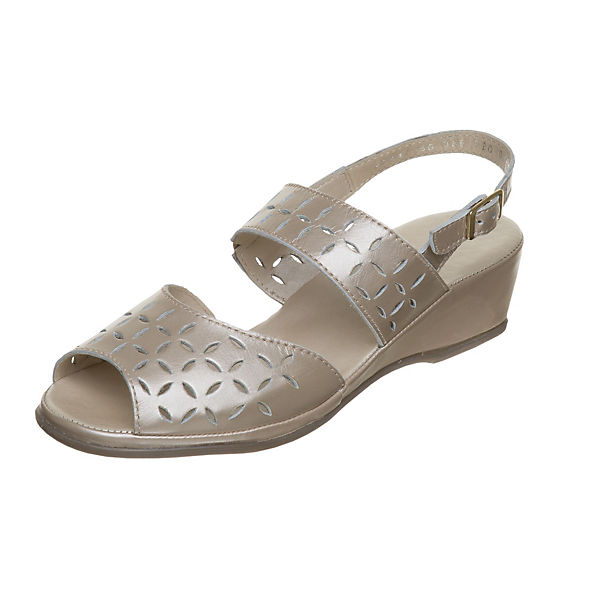 Fortuna Klassische Sandaletten Anita gold