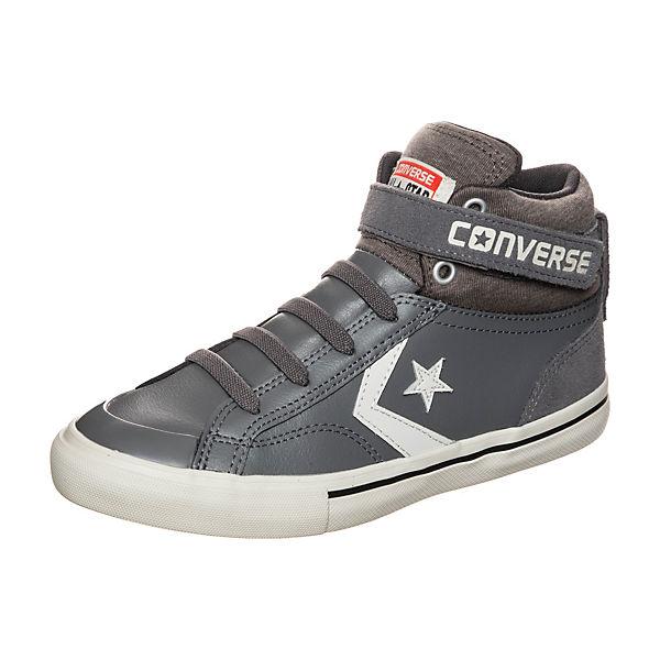 CONVERSE Kinder High Sneakers mit Schnürverschluss grau