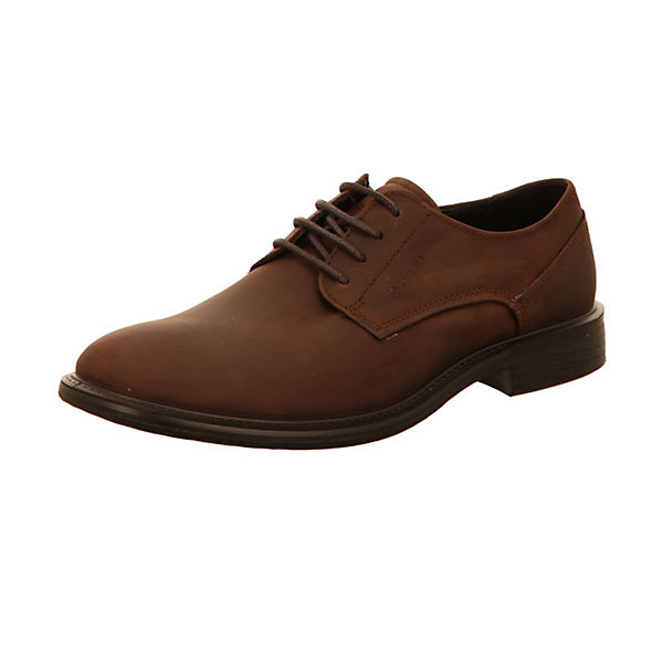 Business ecco Schnürschuhe ecco braun Business qRvgq