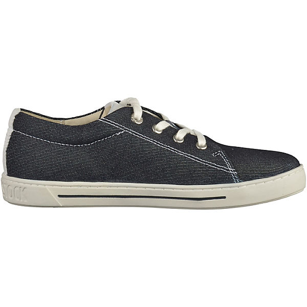 BIRKENSTOCK Kinder Sneakers Low mit herausnehmbarer Sohle dunkelblau