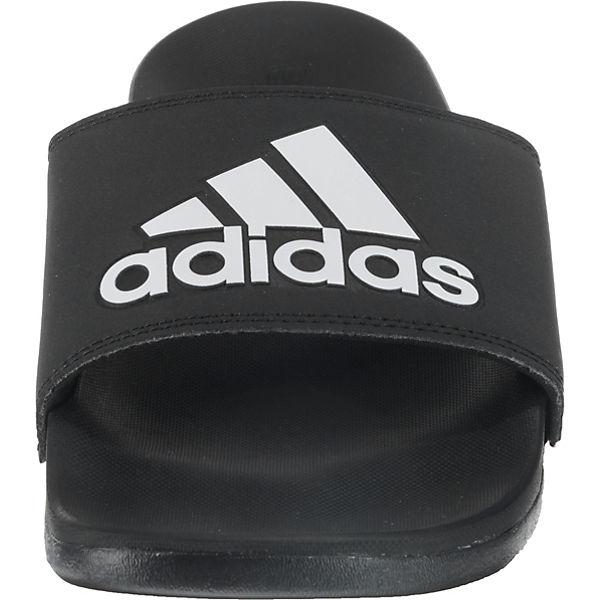 adidas Performance Adilette CF+ Logo offene Schuhe schwarz