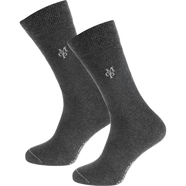 Marc O'Polo Larsen 2 Paar Socken grau