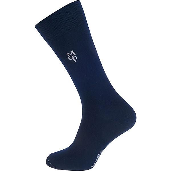 Marc O'Polo Larsen 4 Paar Socken dunkelblau