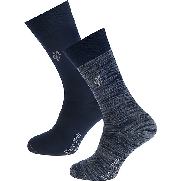 pretty nice 55713 0a0d5 Marc O'Polo, Jonte 2 Paar Socken, blau