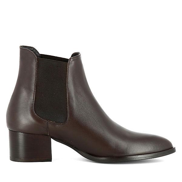 Shoes Evita Boots BELINDA dunkelbraun Chelsea 8xnxwAfqS