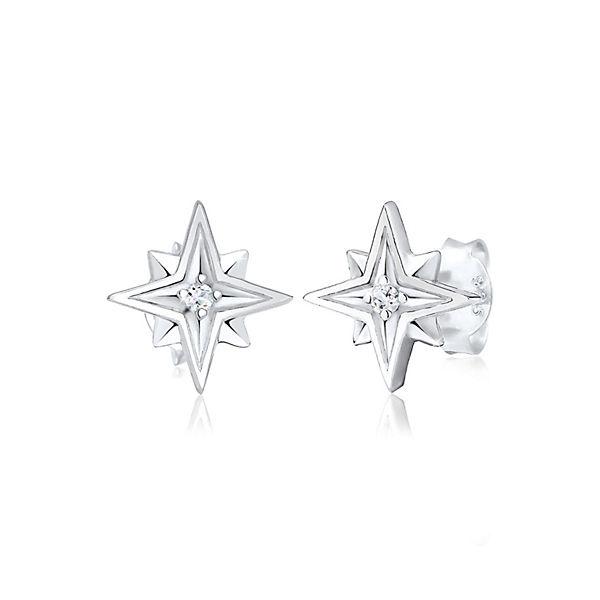 e07619e581bd Ohrringe Sterne Astro Topas Edelstein 925 Sterling Silber. Elli PREMIUM