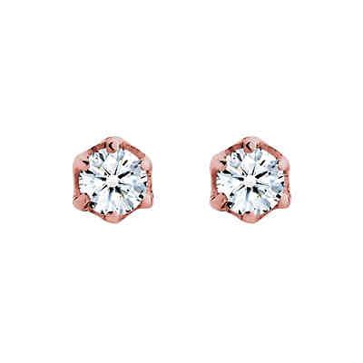 925 Silber Ohrringe Basic Ohrstecker Diamant (0.06 ct.) 925 Silber 2 9748a525a8