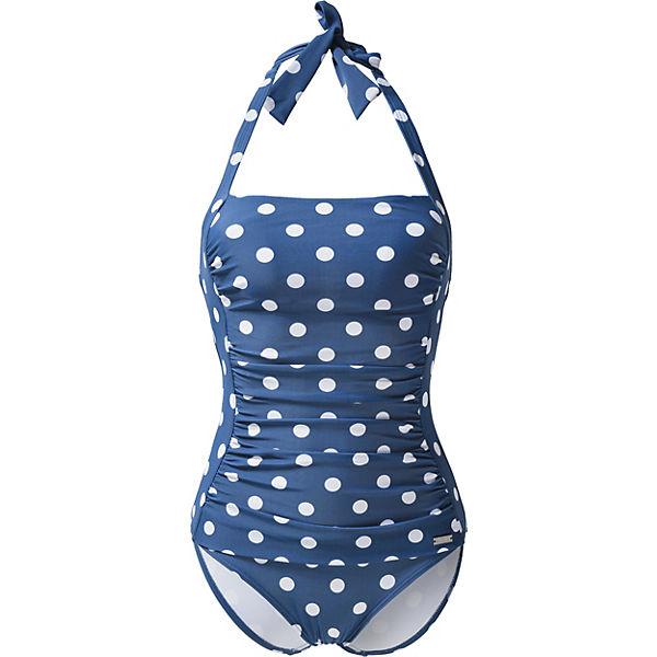 blau weiß LASCANA Lissy Badeanzug Badeanzug Lissy LASCANA weiß blau 1qwCCHS