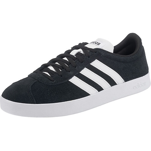 2 schwarz Sport Sneakers Inspired Court Low 0 Vl adidas IRAwBx