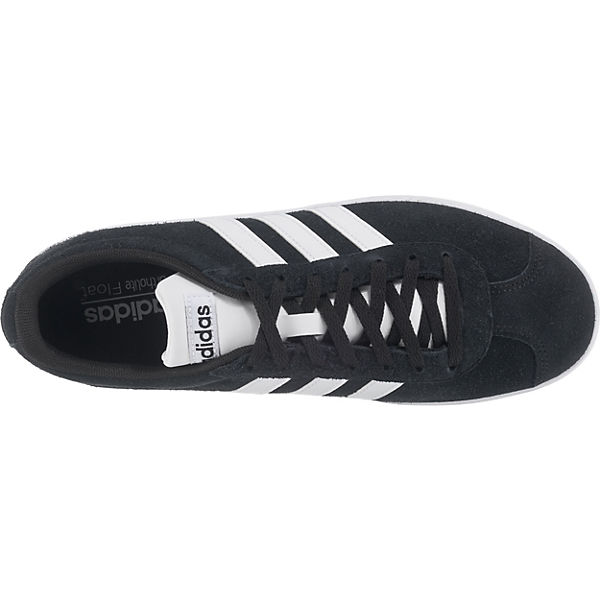 2 Sport adidas 0 Low Inspired schwarz Court Vl Sneakers I7qd7
