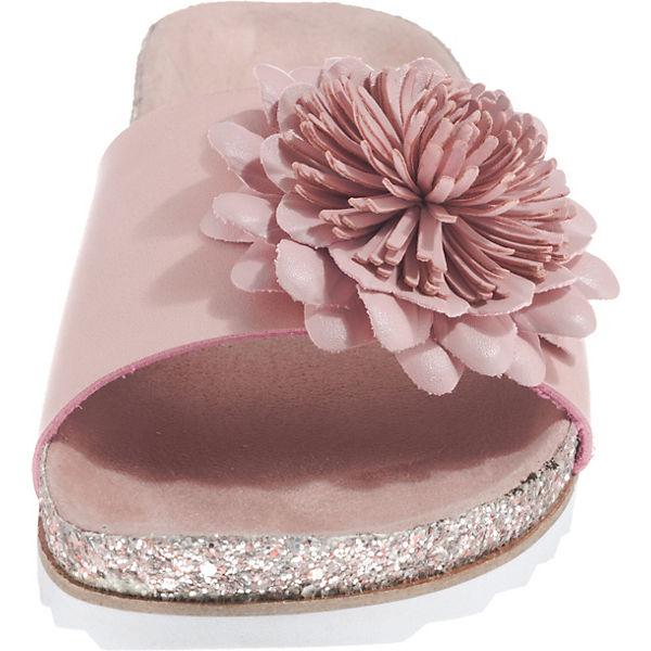 bugatti bugatti rosa Pantoletten Pantoletten qZp1w