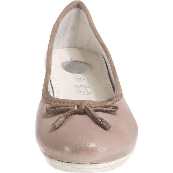 Bugatti Taupe Klassische Taupe Bugatti Bugatti Ballerinas Ballerinas Klassische mn80OvwyPN
