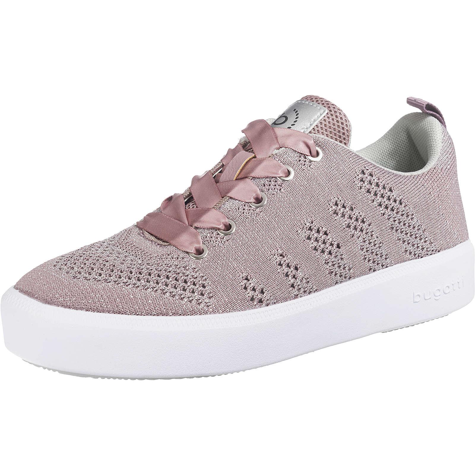 bugatti Sneakers Low rosa Damen Gr. 39
