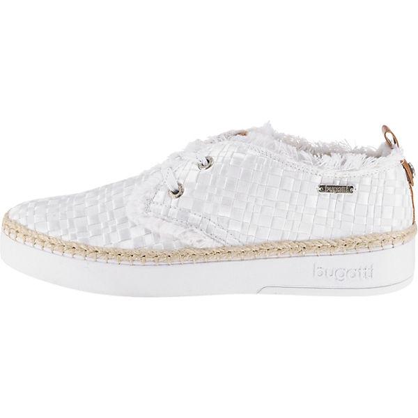 bugatti Schnürschuhe beliebte weiß-kombi  Gute Qualität beliebte Schnürschuhe Schuhe 1a26e0