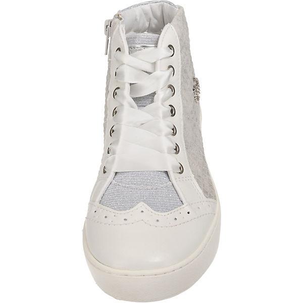 Bugatti Weiß Sneakers kombi High FuTc5l1KJ3