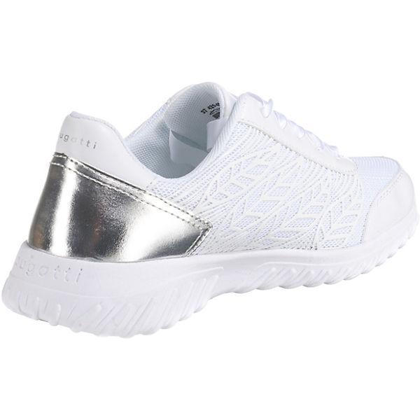 Sneakers Sneakers Bugatti Bugatti Bugatti Low Weiß Bugatti Low Low Weiß Sneakers Weiß Yb7f6vgy