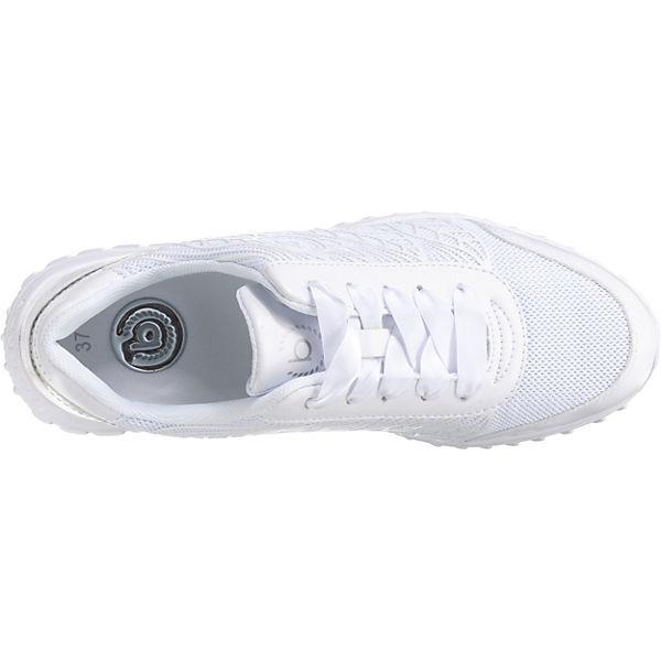 bugatti,  Sneakers Low, weiß   bugatti, 6e0e61