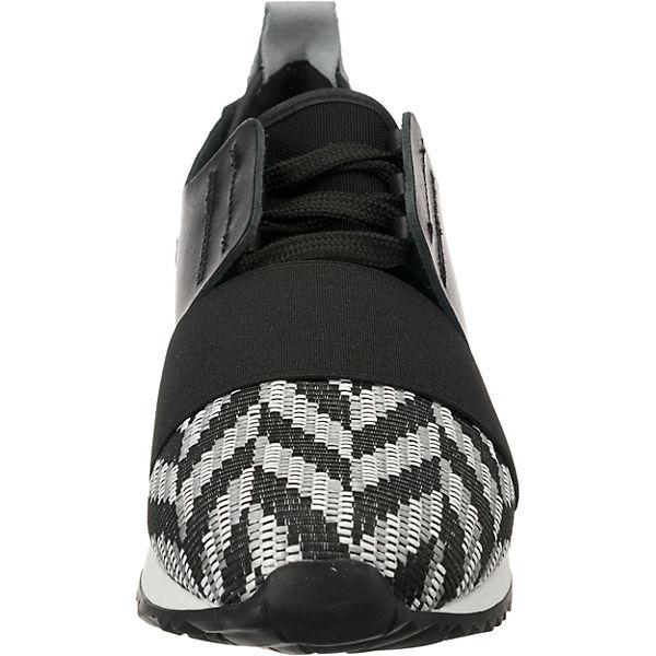 Sixtyseven, DASEL Gute Sneakers Low, schwarz/weiß  Gute DASEL Qualität beliebte Schuhe 15d799