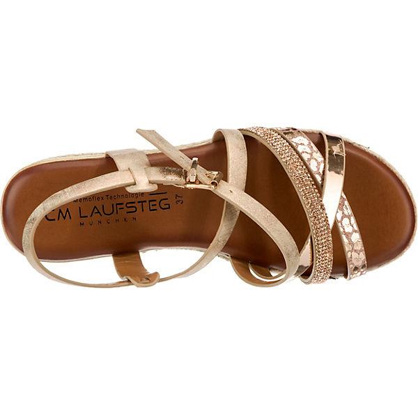 Laufsteg München, RiemchenSandale, beliebte beige-kombi Gute Qualität beliebte RiemchenSandale, Schuhe a1bd21