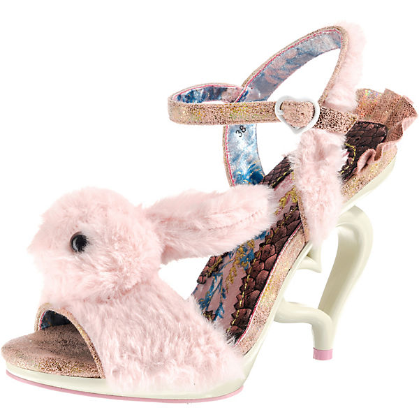 FLUFFY LOVE Peeptoe-Pumps