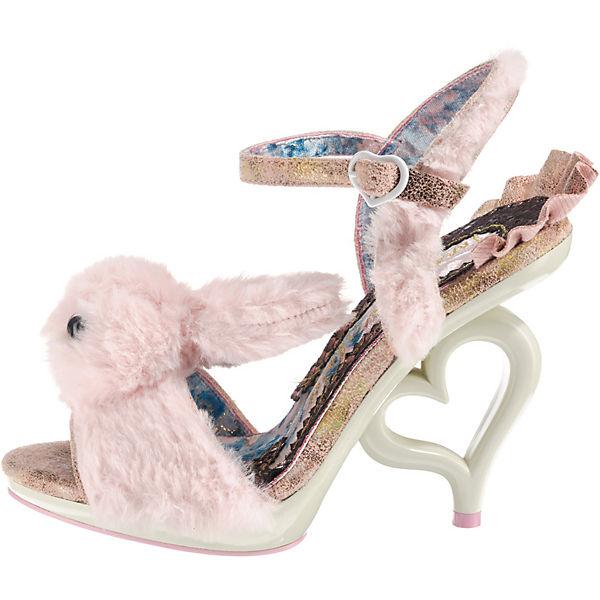 Irregular Choice, FLUFFY LOVE beliebte Peeptoe-Pumps, rosa  Gute Qualität beliebte LOVE Schuhe 7b44d7