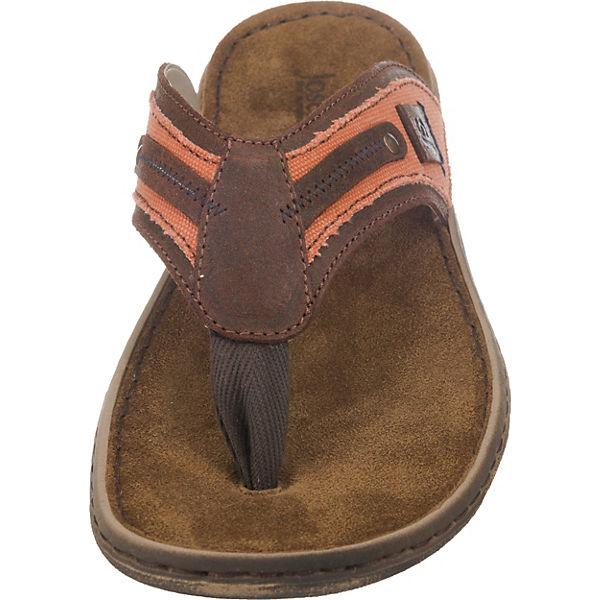 Josef Seibel, Paul Gute 11 Zehentrenner, braun-kombi  Gute Paul Qualität beliebte Schuhe 2331a7