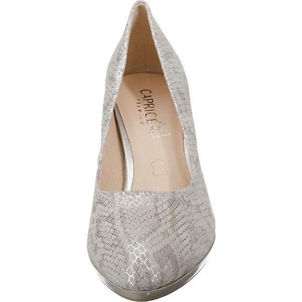 CAPRICE, Qualität Plateau-Pumps, grau-kombi  Gute Qualität CAPRICE, beliebte Schuhe 7736e1